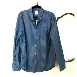 GAP- slim fit men's button down (L)